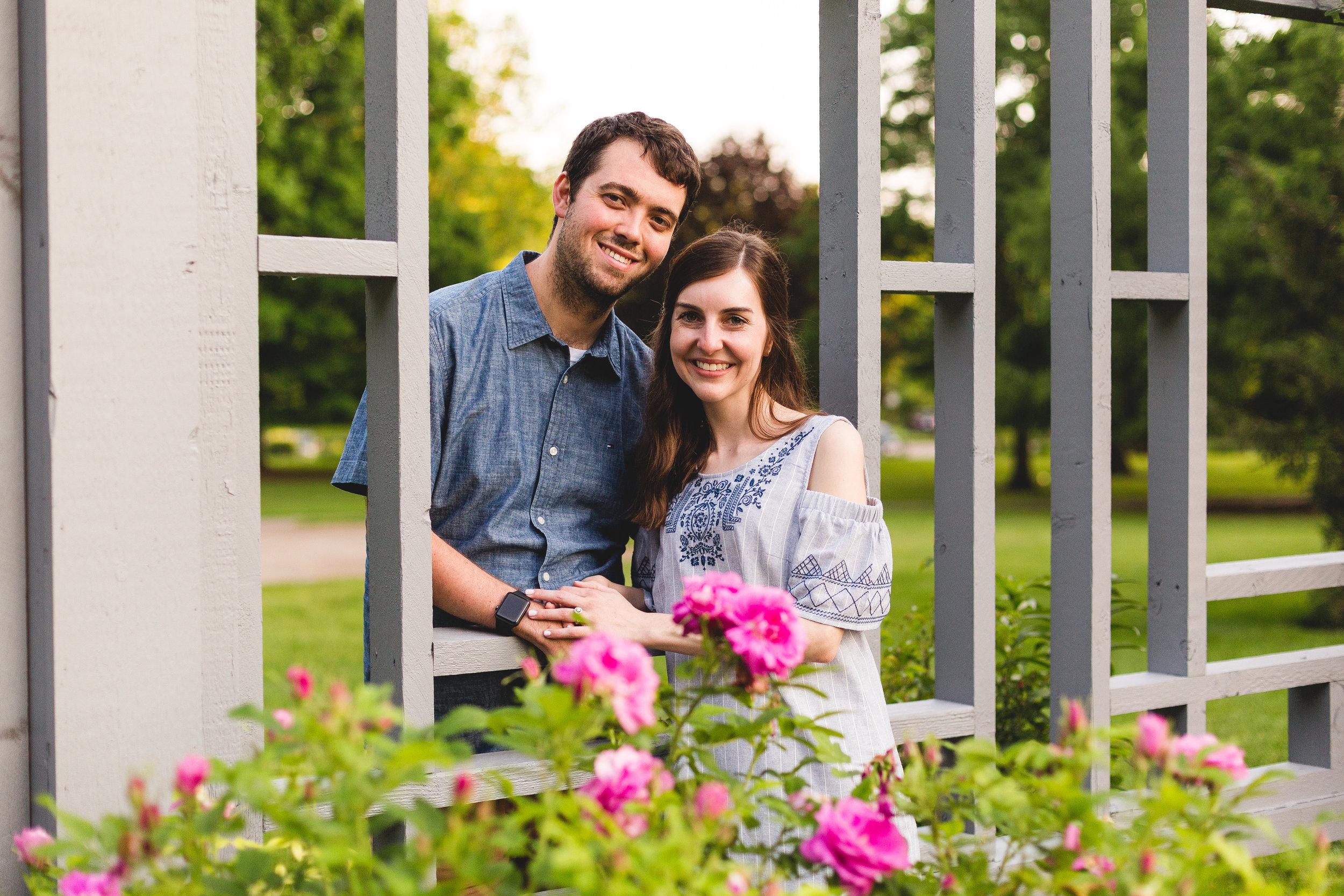 Rose garden inniswood metro gardens