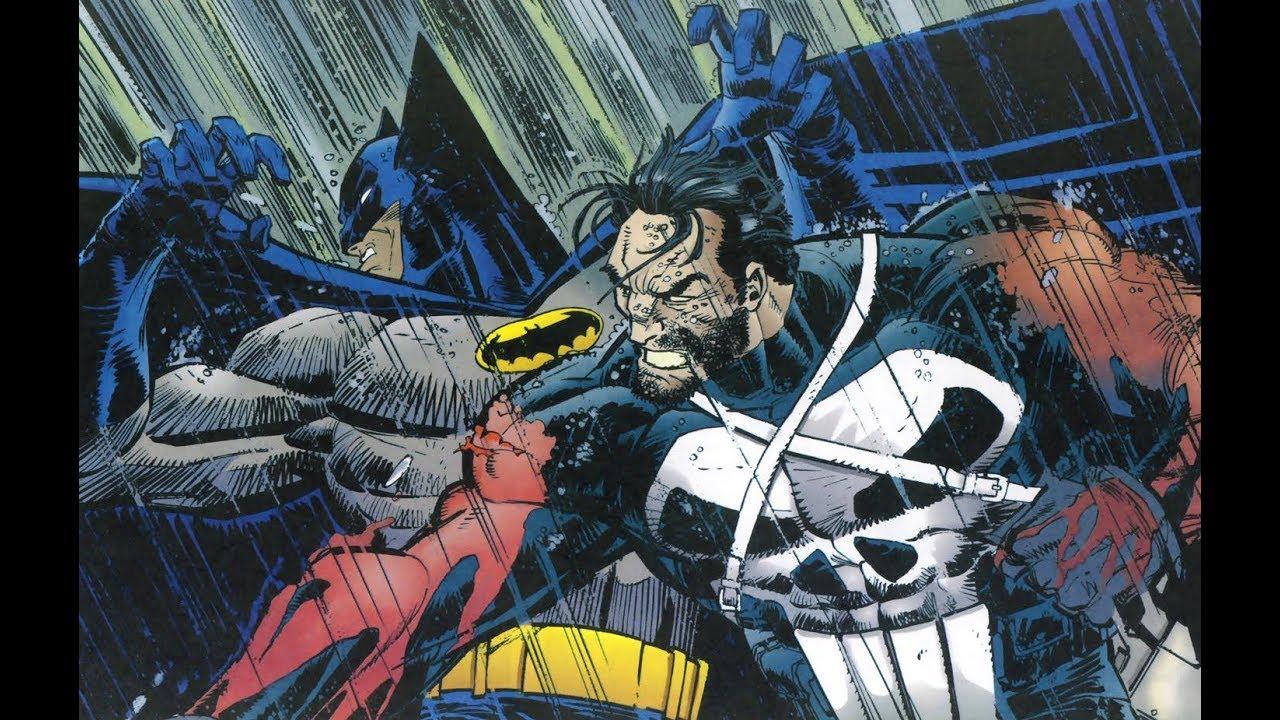 Batman Vs The Punisher