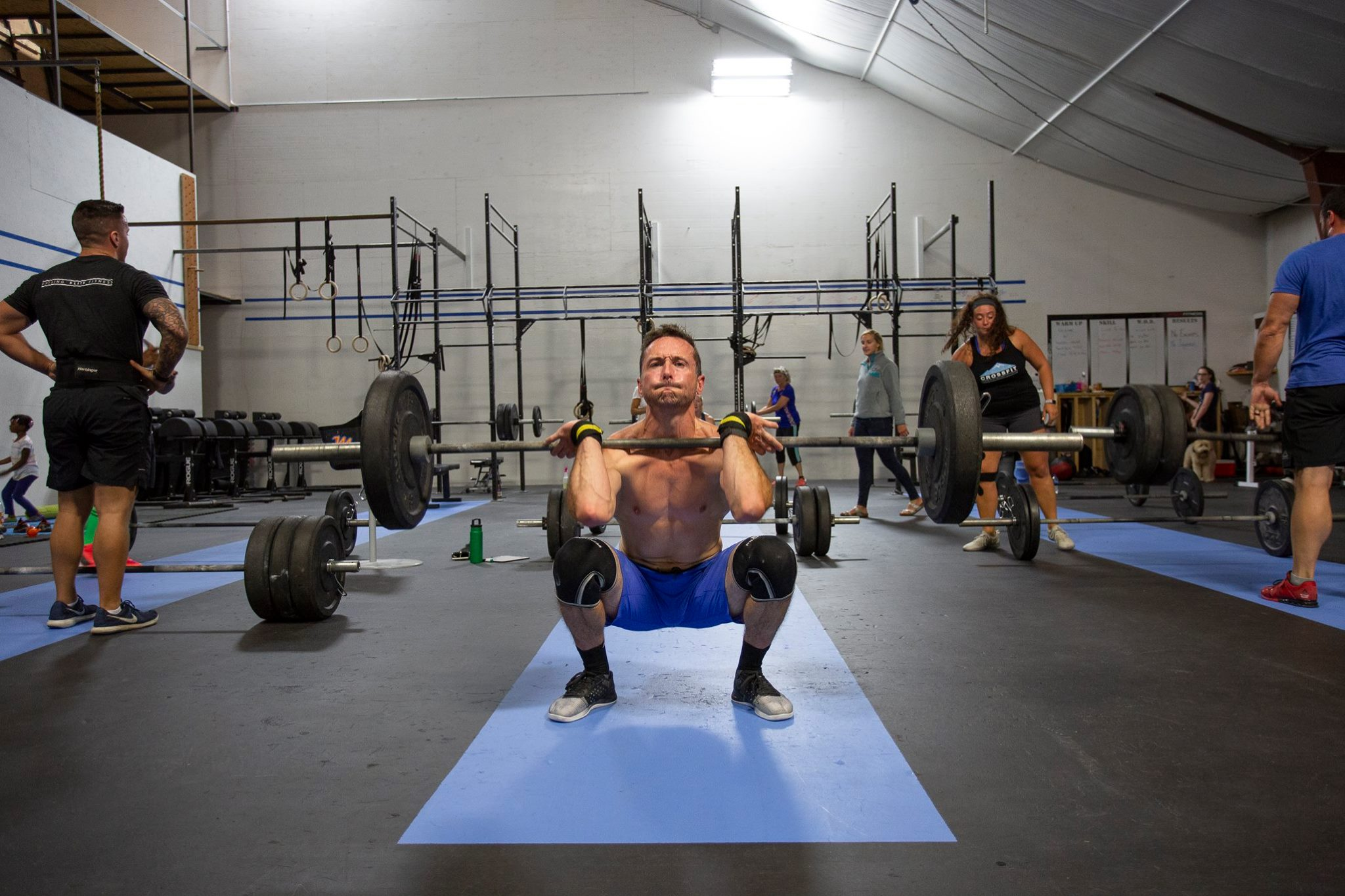 Meet Josh - Josh is one of our three newest trainErs and lives locally in Sugar Hill with his wife and two children. Josh and his family are all CrossFitters. Amber, a local gymnastics coach, was the person who convinced Josh to try CrossFit after she started a few months before him.Read More…