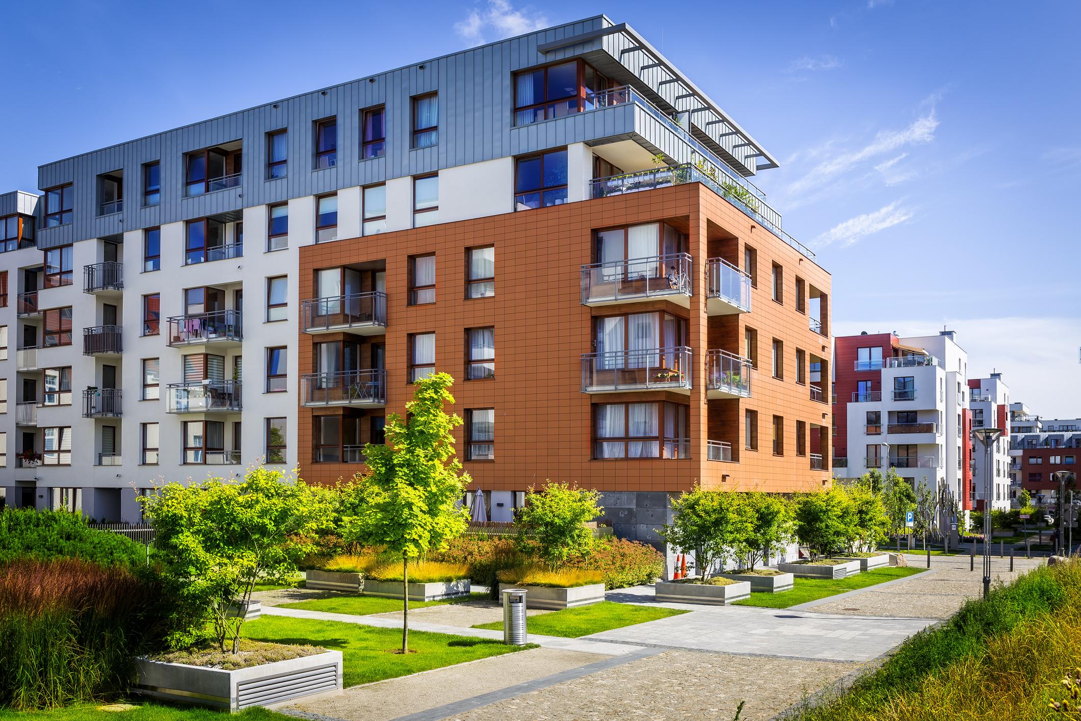 Multi-family - Mixed Use, University Housing