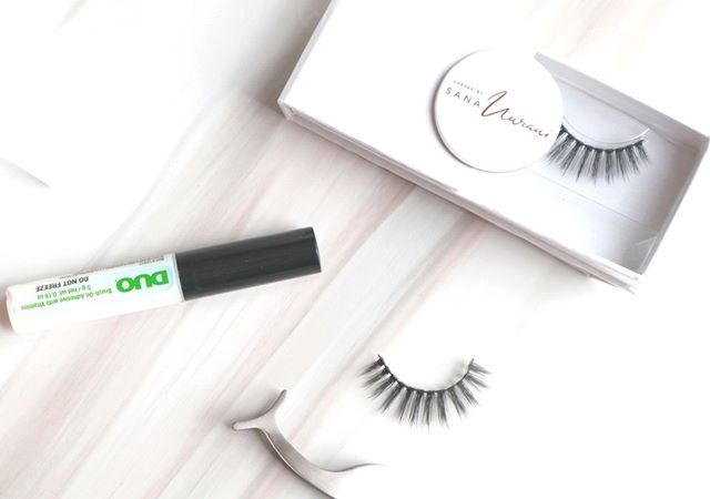 We 💜Duo Lash glue with our cruelty-free vegan mink lashes  I always like to use the Duo Latex Free glue with the brush applicator both on myself and on my clients!  Also can't forget my trustee Lash Tweezers for precise application! . . . . . . . . . . . . . . . . . . . #holygrail #shelfie #falselashes #needthis #allnew #trendinginsephora #brandnew #makeupreviews #newinbeauty #beautyflatlay #brandnew #eyeliner #falselashes #motd #makeupoftheday #bblogger #makeup #makeuplaunch #favorites #undiscovered_muas #makeuptalk #makeupjunkie #smokeyeye #makeupporn #lashes #veganlashes #igtopshelfie #makeupdaily #makeupobsessed #crueltyfreebeauty