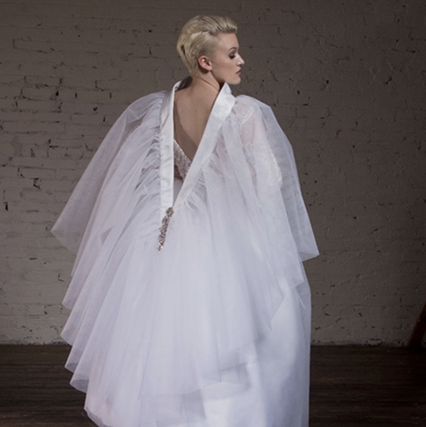 """Apparel Magazine - """"Creating and drawing came naturally to me from a young age,"""" she explained. """"I started recreating the glamour and grace of bridal designs, marrying old Hollywood styles with modern flair."""" At age 24, Ewing already owns and operates her own boutique – Zuri Bridal in Atlanta, Georgia."""