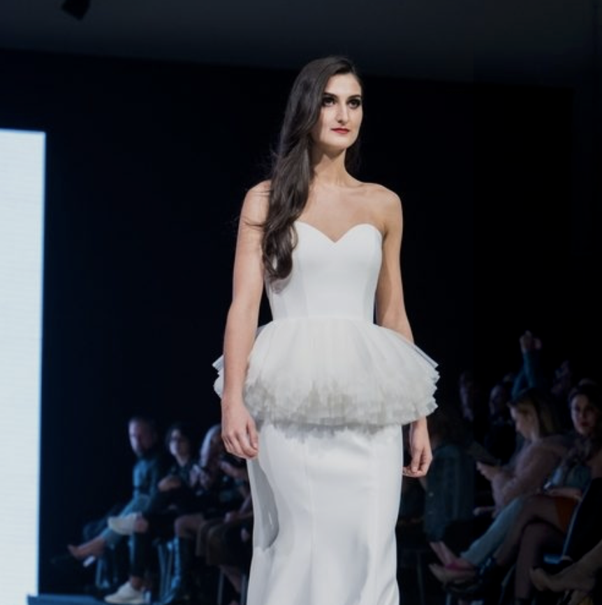 MNE Magazine - Day 4 of Vancouver Fashion Week 2018 marked an evening of variety with a strong selection of designers from around the world, and a special four-legged friend opening a show at the David Lam Hall in downtown Vancouver.