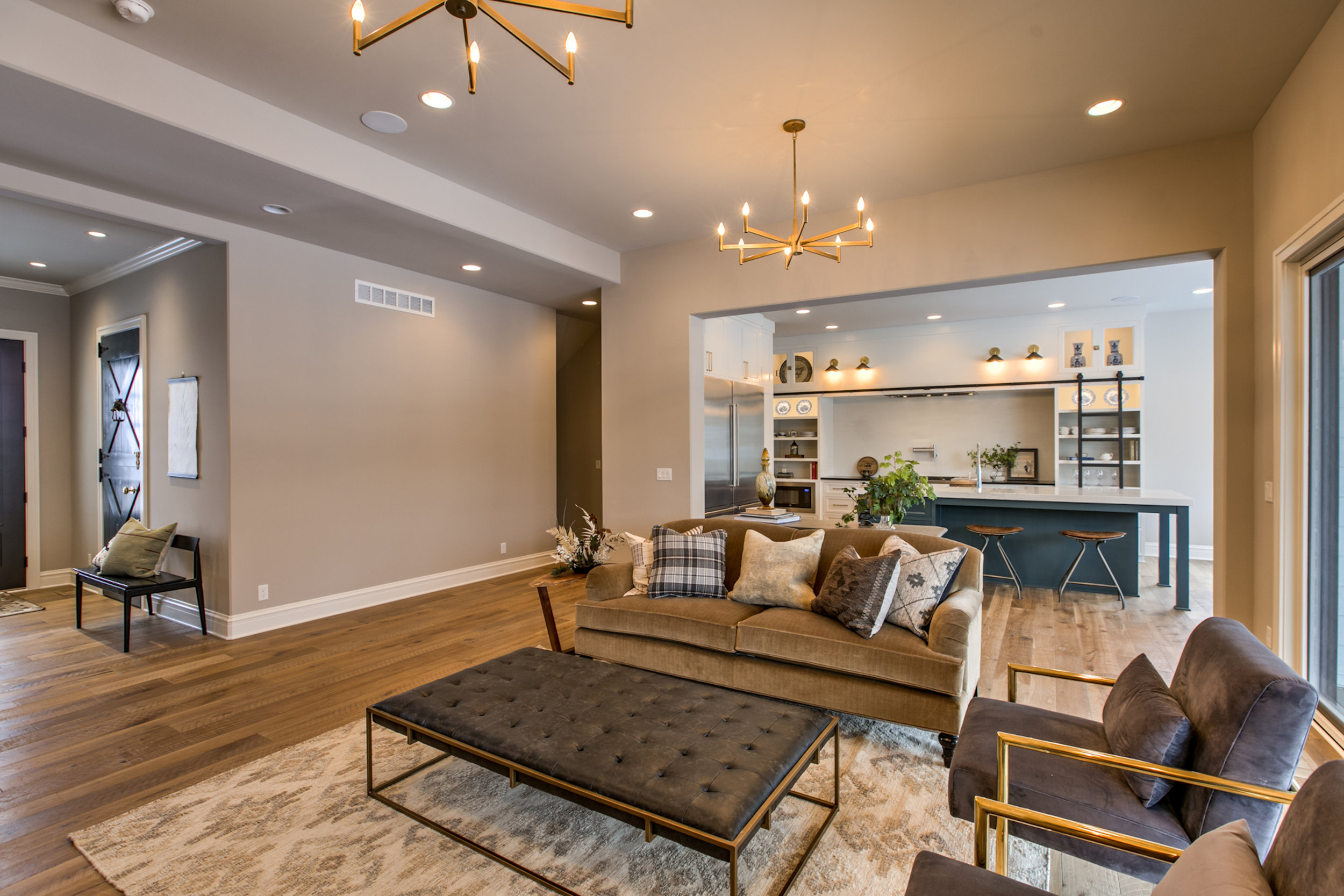 The Living Room | Nathan Homes