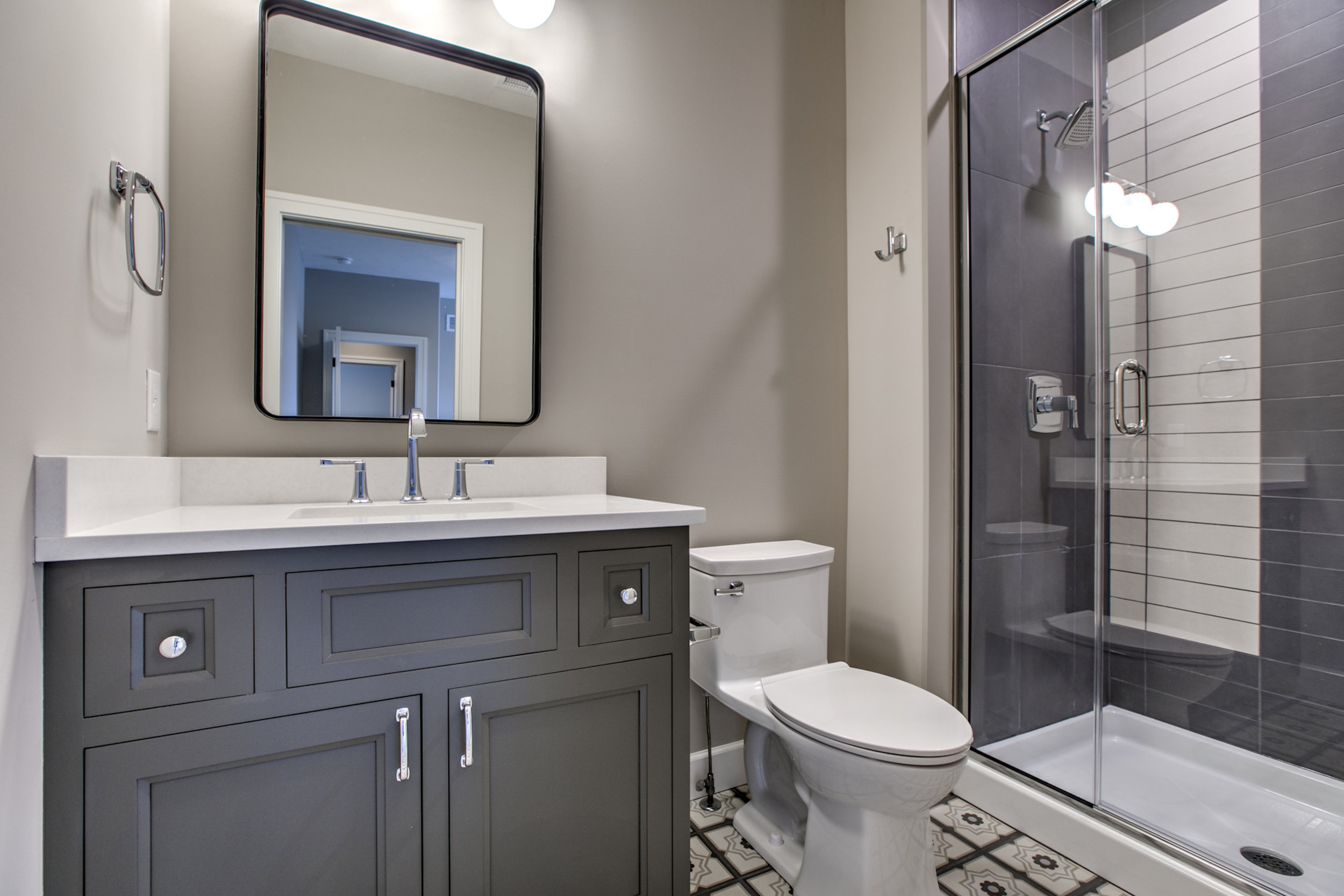 The Second Bathroom | Nathan Homes