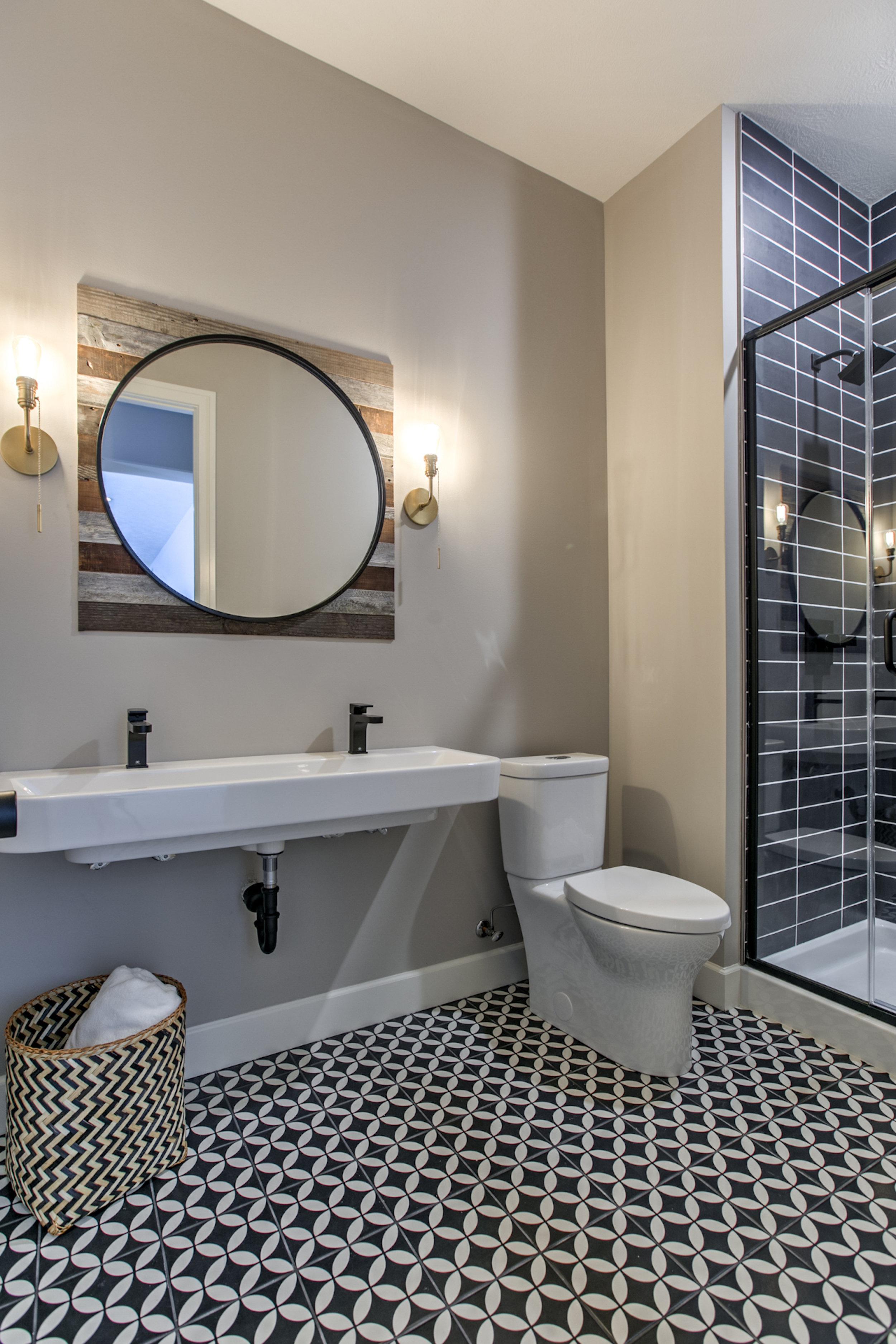 The Basement Bathroom | Nathan Homes