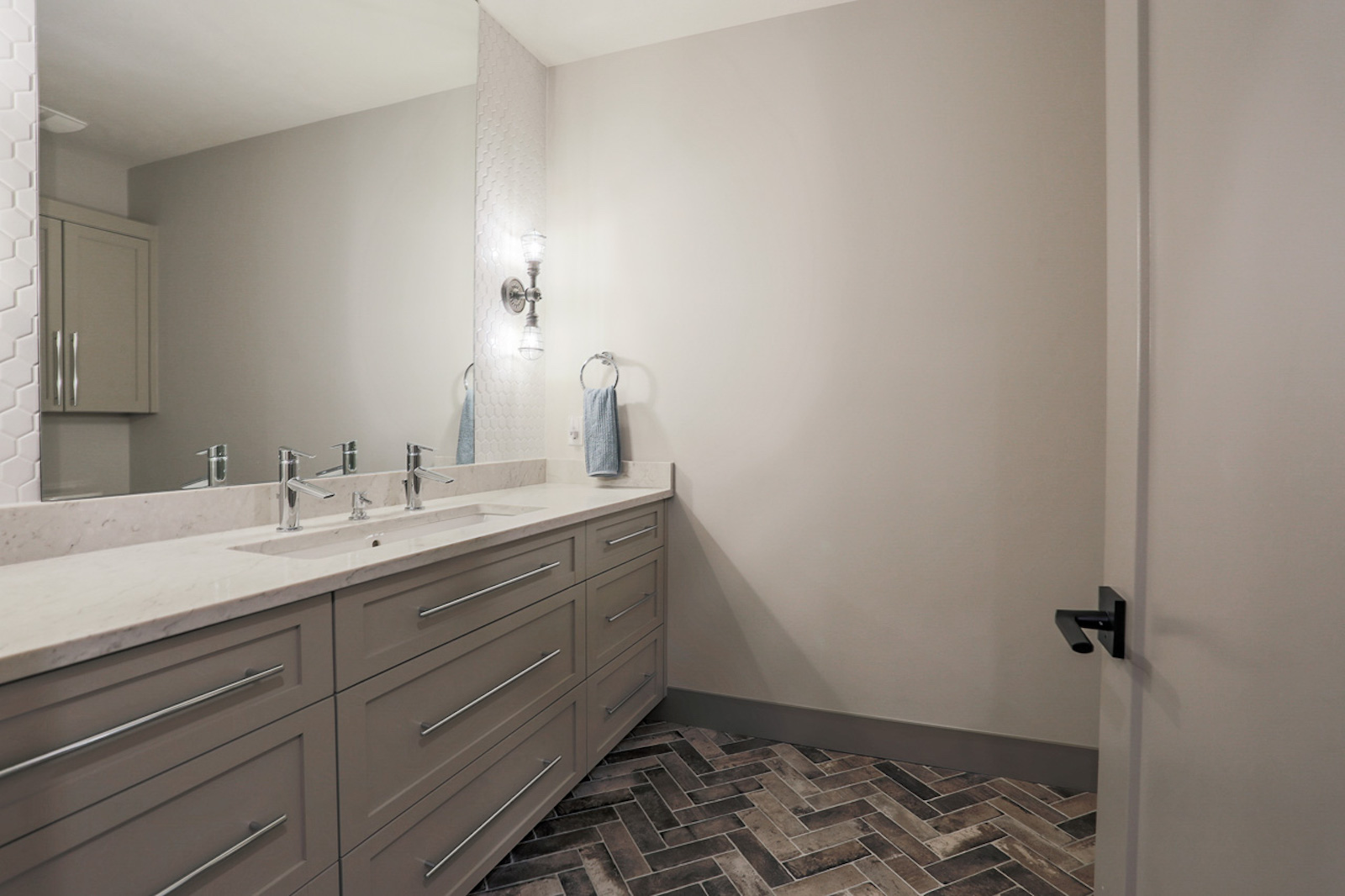 The Downstairs Bathroom | Nathan Homes