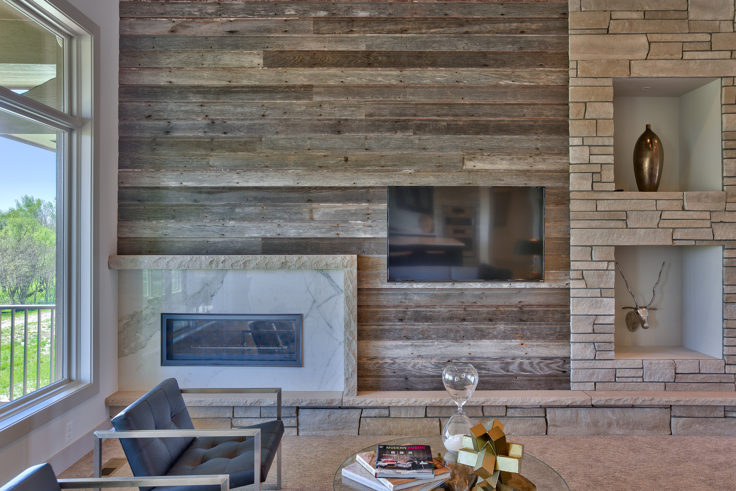 The Fireplace | Nathan Homes