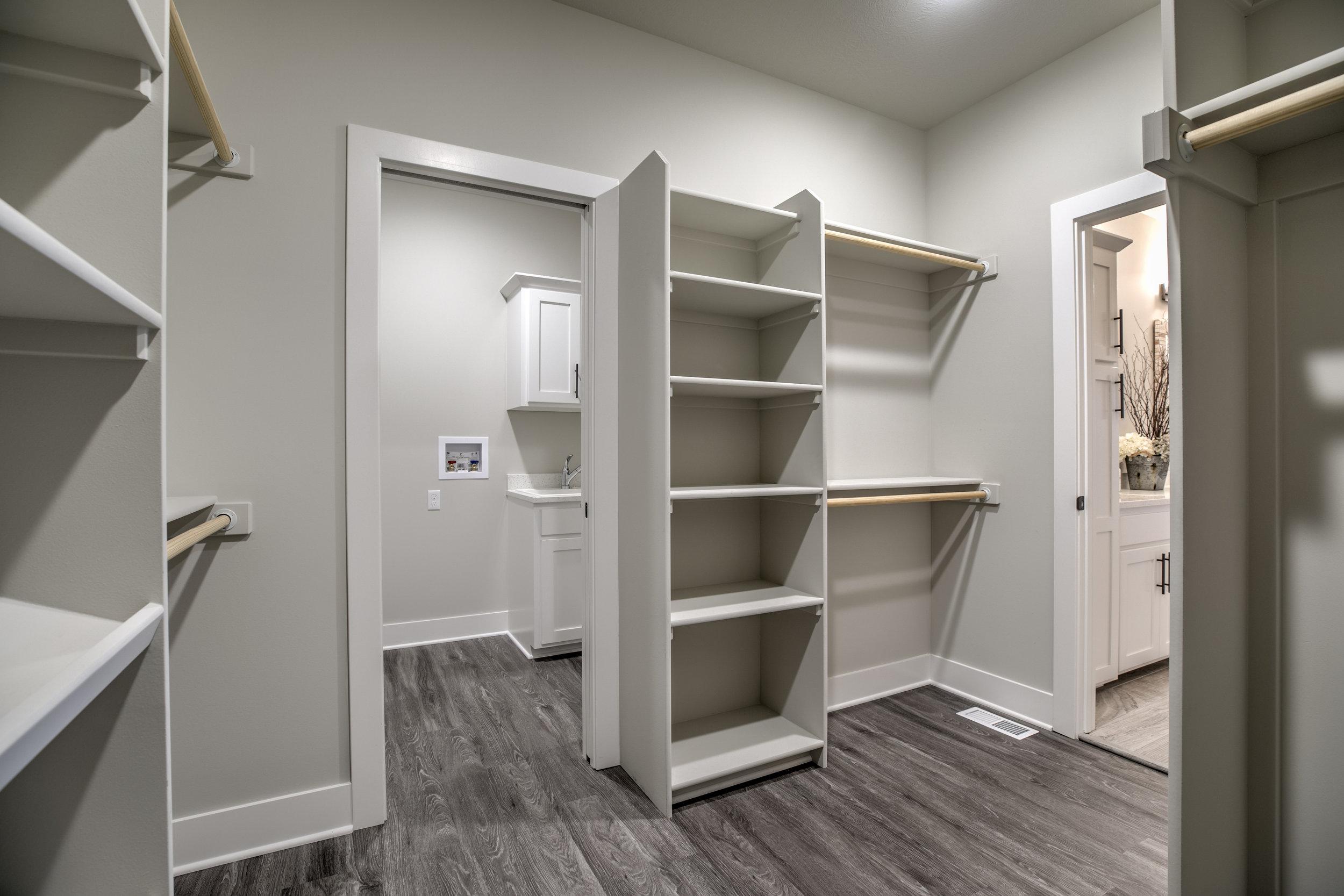 The Master Closet | Laid Back Lifestyle
