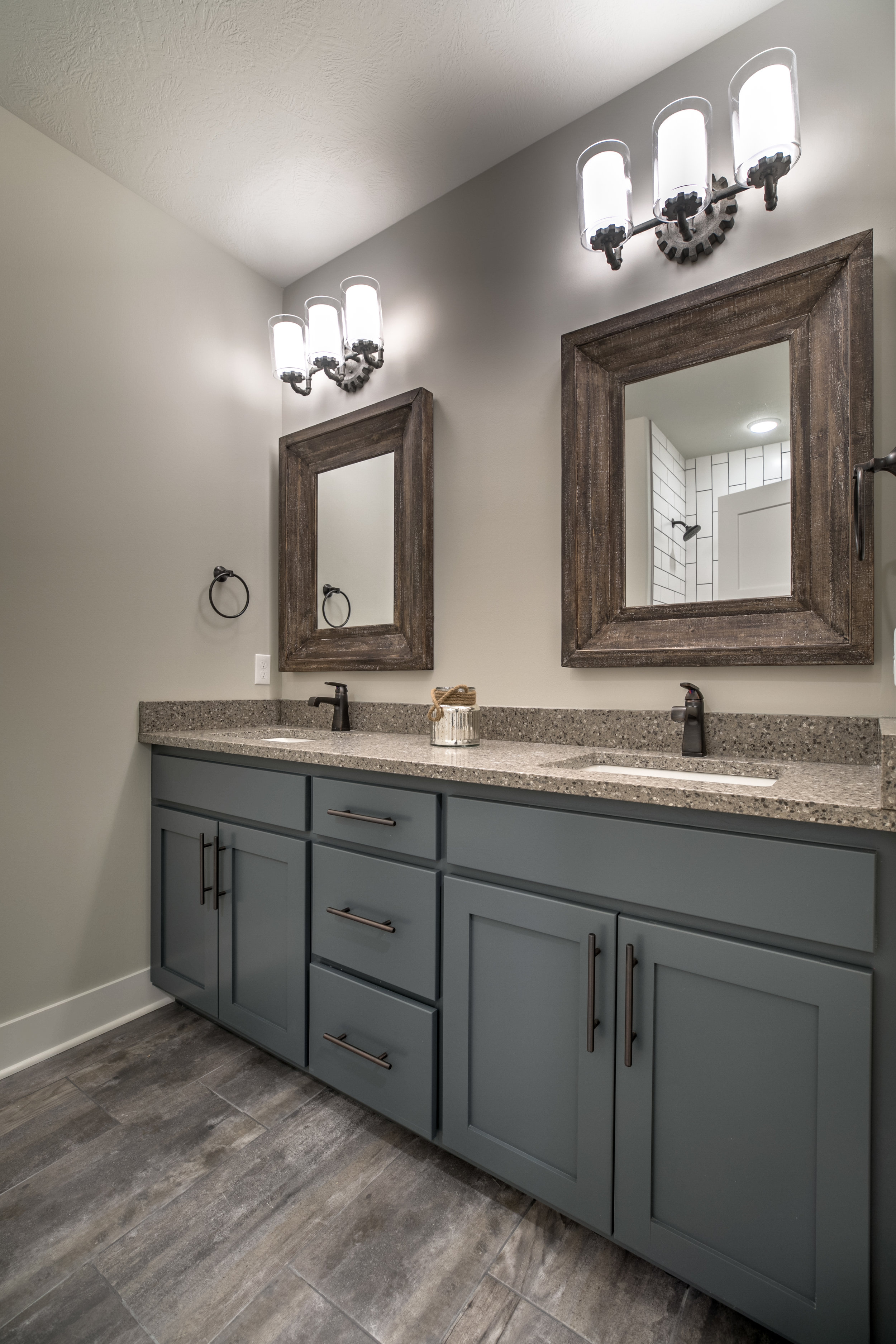 The Downstairs Bathroom | Laid Back Lifestyle