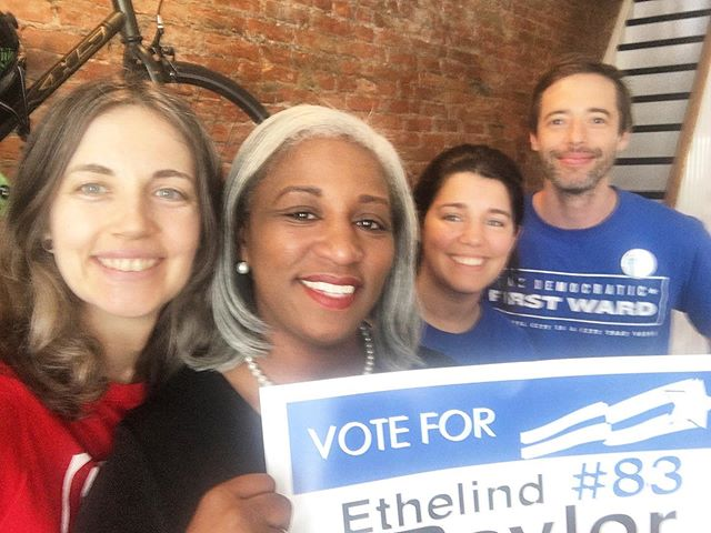 Thank you to Philly First Ward for all of the support! Ethelind is fighting for workers rights. Join her in the fight by using your voice and your vote Tuesday, May 21st and remember Button 83! #ethelindbaylor4council #phillyvotes #votephilly #vote #philadelphia #gotvphilly #gotv #phillysupportphilly