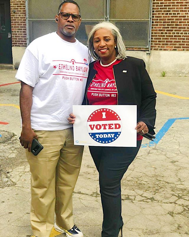 Today is the day Philadelphia. Remember to push Button 83!  #ethelindbaylor4council #phillyvotes #votephilly #vote #philadelphia #philly #gotv #gotvphilly #phillysupportphilly #citycouncil #citycountilatlarge #phillycitycouncil