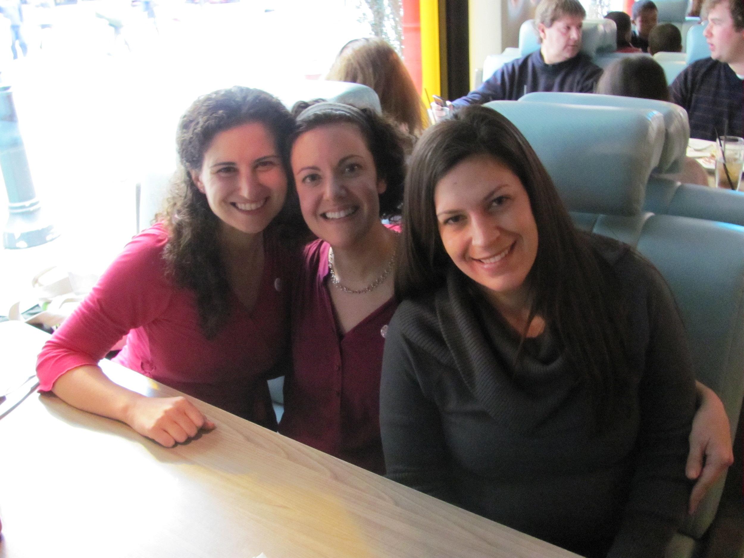 Lisa, Colleen, & Lisa