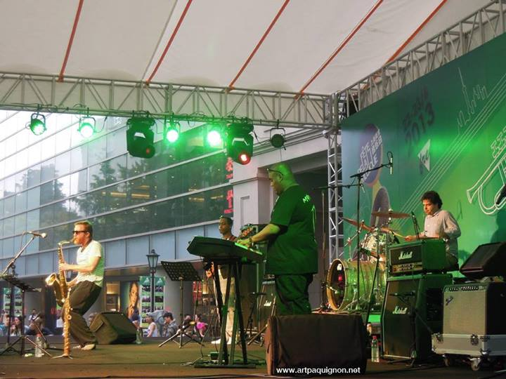 Quentin Paquignon Quartet @ Fete de la Musique Xintiandi Shanghai 2013-2.jpg