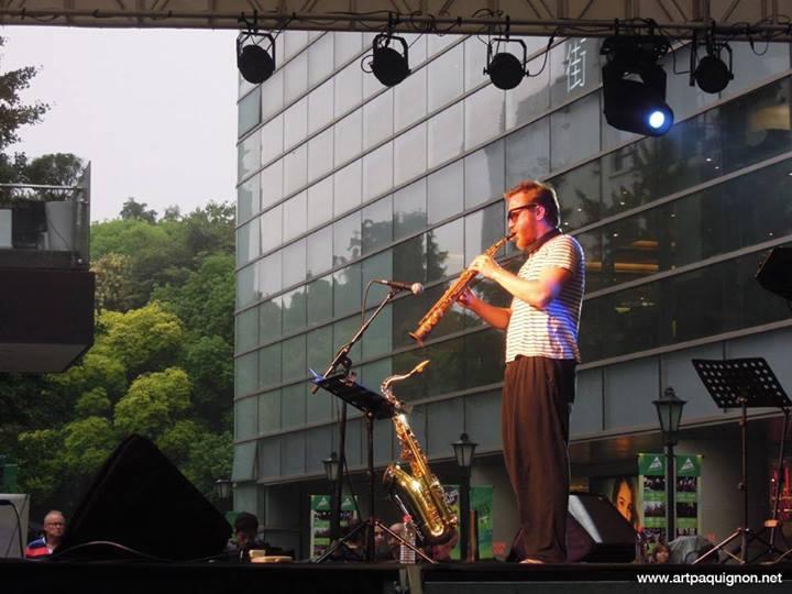 Quentin Paquignon Quartet @ Fete de la Musique Xintiandi Shanghai 2013-3.jpg