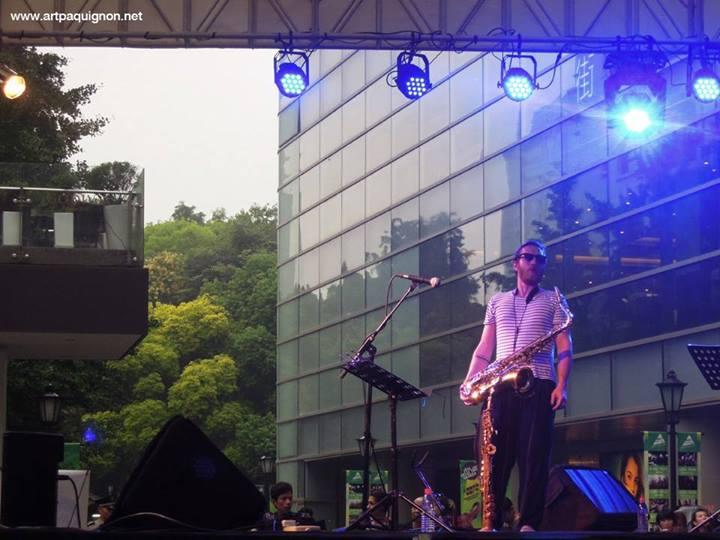 Quentin Paquignon Quartet @ Fete de la Musique Xintiandi Shanghai 2013-7.jpg