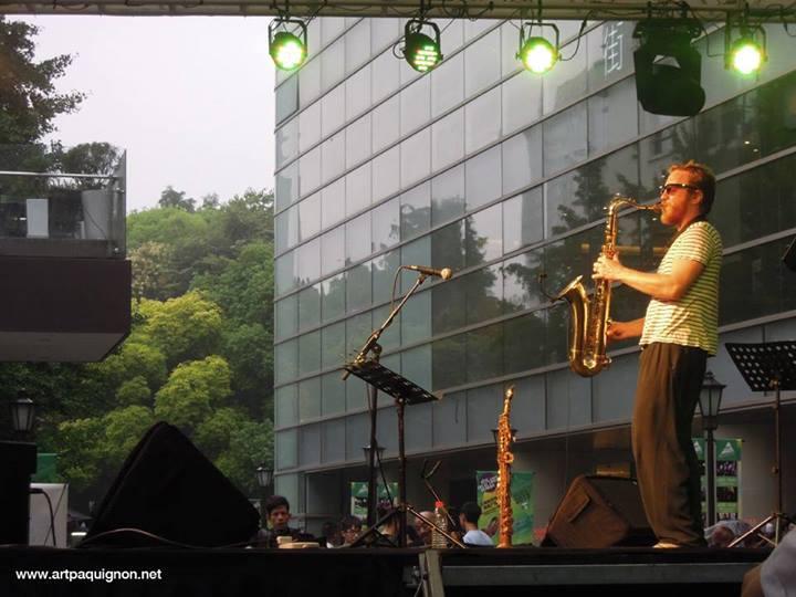 Quentin Paquignon Quartet @ Fete de la Musique Xintiandi Shanghai 2013-10.jpg