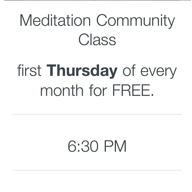 11 Potter Ave - Hyannis : the 1st Thursday of every month at 6:30pm with @manny.marrero_ . . What to expect:  Check-in  Sitting Meditation  Mindful speech & mindful listening Body awareness meditation / Loving Kindness  Guided by: Manny Marrero, MOT, OTR/L, FCE Nicole Cormier, RD, LDN . . #meditation #nutritionfromthegroundup #bepresent #nutritionpractice