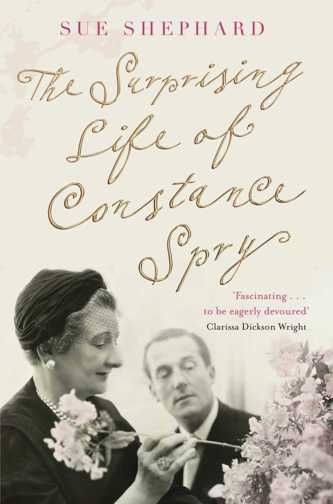 I highly recommend reading The Surprising Life of Constance Spry By Sue Shepard -If you would like a fun read and some insight into her world and journey. -