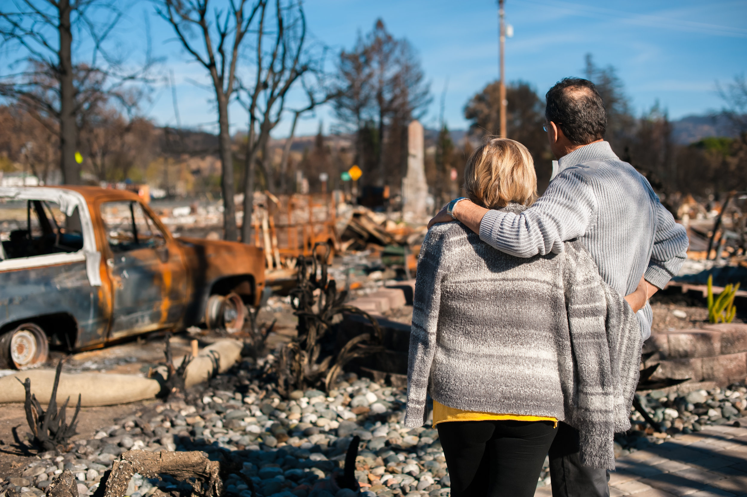 Take Action - If you or a loved one were affected by the 2018 Woolsey fire, contact us today for more information!