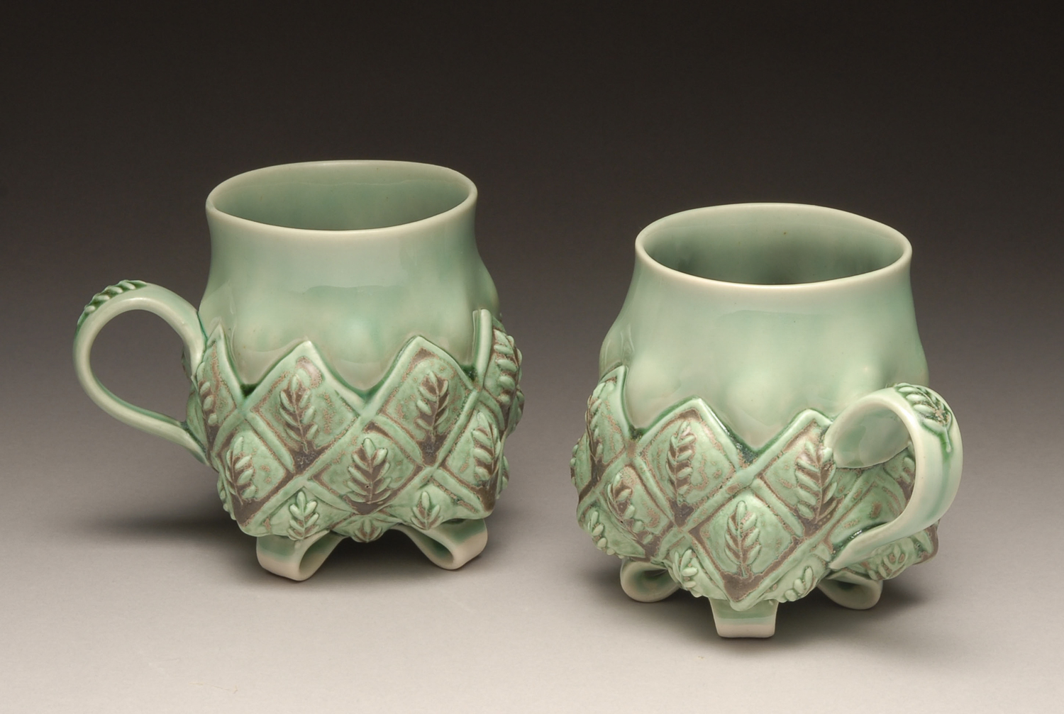 BOHLS Green Leaf Mugs 2007.jpg