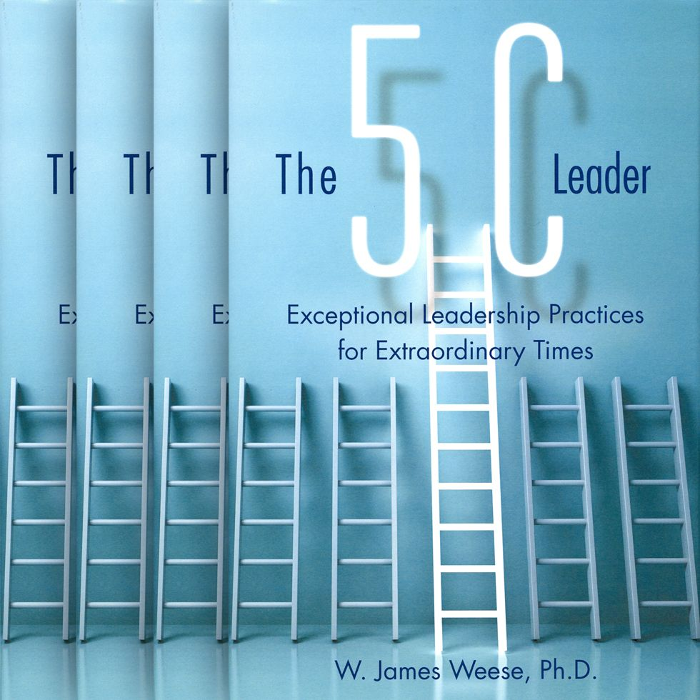 The 5C Leader is available in hard copy, soft cover and as an e-book.
