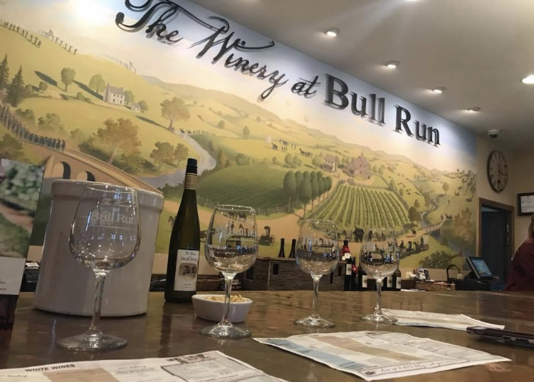 Gorgeous Bridal Shower! The Winery at Bull Run