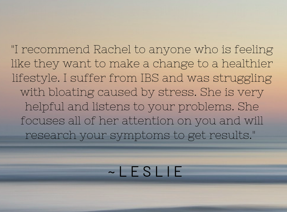 _I recommend Rachel to anyone who is feeling like they want to make a change to a healthier lifestyle. She is very helpful and listens intently to your problems. She focuses all of her attention on you and  (1).png