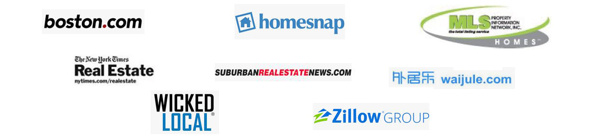 various logos of resources for selling your home