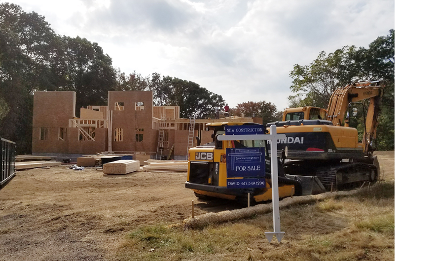 new home construction, massachsuetts