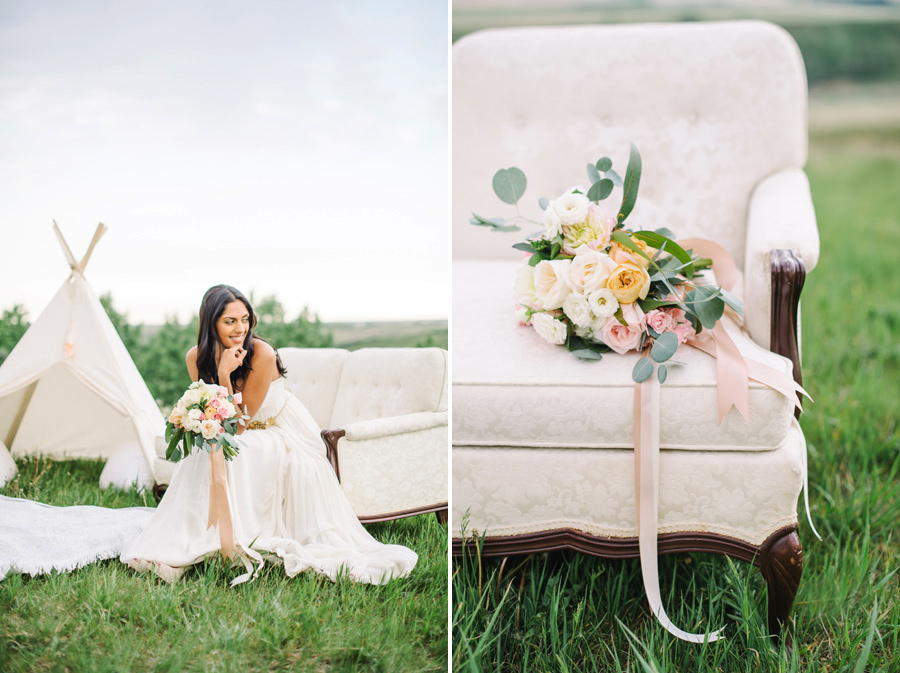 Saskatoon Berry Farm Wedding