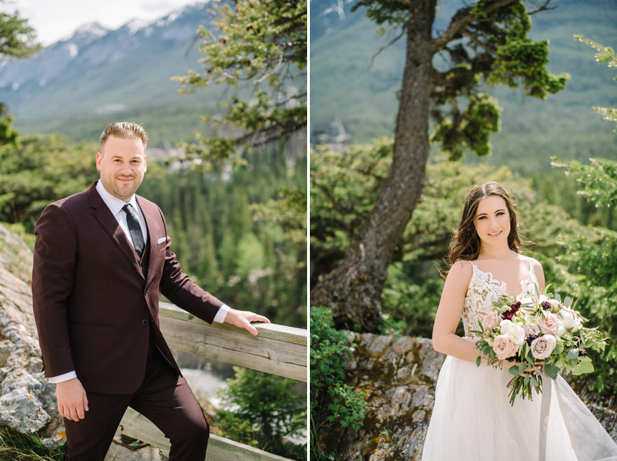 Summer Wedding Banff Springs Hotel