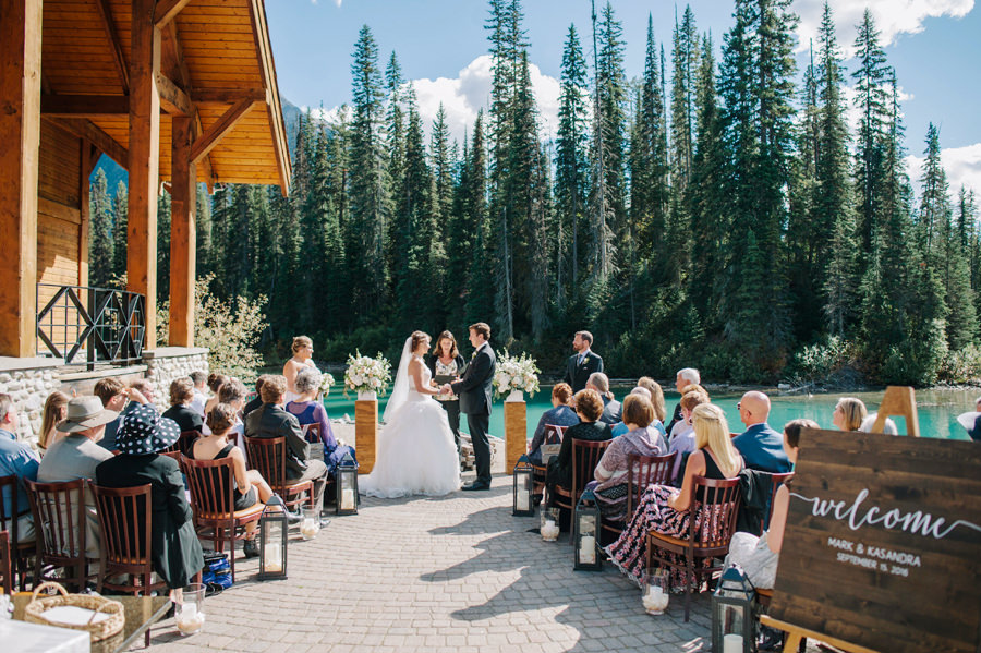 Emerald Lake Lodge Wedding