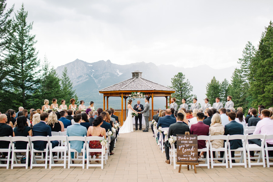 Silvertip Canmore Wedding