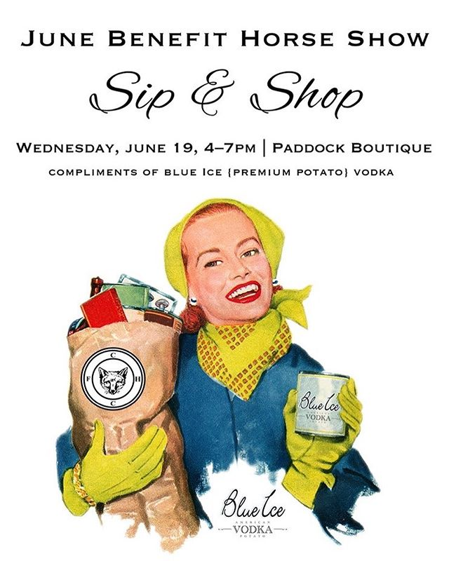 June Benefit Horse Show • Sip & Shop!  Wednesday, June 19, 4–7pm! Peruse a wide selection of luxe goods in our Paddock Boutique while sipping on complimentary  @blueicevodkausa cocktails! Check out our website for our calendar of events and list of (some of our) vendors and join us! Direct link in bio!  Live the #HuntClubLife .  Membership inquires: diana@huntclubonline.org . . . . #westportct #06880 #westportmoms #countryclublife #riding #horselove #tennis # #paddletennis #iceskating #hockey #203 #203local #eastcoastliving #eastcoastlifestyle #westport #fairfieldcountyct #fairfieldcountymoms #westport #nyc #southport #norwalk #horseshowing #horseshows #ridinglessons #ridingcamp