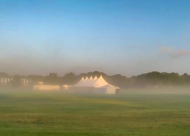 Thank you @greershotz for capturing this gorgeous morning — so serene and moody. Our field, and show tents, so beautifully veiled with a light midst of fog as we continue preparation for our prestigious June Benefit Horse Show — that starts on Tuesday! 6/18-6/22  Next week our grounds will come alive with over 650 world-class riders and horses as they compete in three disciplines: hunter, jumper and equitation. Our show ends 6/22 with #ponyrides for the kids as well as a $50K Grand Prix and ringside @equusfoundation charity luncheon. We're so excited to share our 96th annual June Benefit Horse Show with you! Please join us! .  See our full schedule of events here: Junehorseshow.com Direct link in bio!  Live the #HuntClubLife .  Membership inquires: diana@huntclubonline.org . . . . #westportct #06880 #westportmoms #countryclublife #riding #horselove #tennis #horseshowlife #paddletennis #iceskating #hockey #203 #203local #eastcoastliving #eastcoastlifestyle #westport #fairfieldcountyct #fairfieldcountymoms #westport #nyc #southport #norwalk #horseshowing #horseshows #ridinglessons #ridingcamp