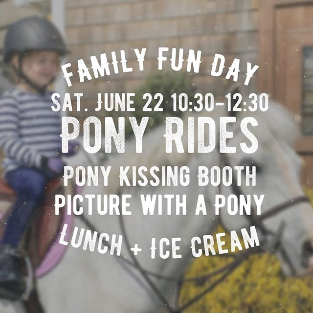 Join us for #FamilyFunDay Saturday, June 22! It's the last day of our June Horse Show! #ponyrides 🐴 and a pony kissing booth ❤️, lunch, ice cream 🍦 ! Only $25 per child, from 10:30 — 12:30 followed by our $50K Grand Prix and @equusfoundation ringside charity luncheon. .  See our full schedule of events here:  Junehorseshow.com (link on bio) .  Live the #HuntClubLife  Membership inquires: diana@huntclubonline.org  #westportct #06880 #westportmoms #countryclublife #riding #horselove #tennis # #paddletennis #iceskating #hockey #203 #203local #eastcoastliving #eastcoastlifestyle #westport #fairfieldcountyct #fairfieldcountymoms #westport #nyc #southport #norwalk #horseshowing #horseshows #ridinglessons #ridingcamp