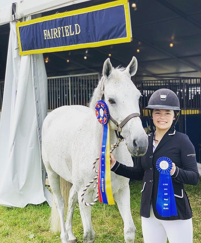 Congrats @siennakeane and Zindora! Low children's/adult champion at @oxridgeclub !! Our June Benefit Horse Show starts tomorrow! June 18 — 22nd. .  See our full schedule of events here:  Junehorseshow.com Direct link in bio! .  Live the #HuntClubLife .  Membership inquires: diana@huntclubonline.org . . . . #westportct #06880 #westportmoms #countryclublife #riding #horselove #tennis # #paddletennis #iceskating #hockey #203 #203local #eastcoastliving #eastcoastlifestyle #westport #fairfieldcountyct #fairfieldcountymoms #westport #nyc #southport #norwalk #horseshowing #horseshows #ridinglessons #ridingcamp