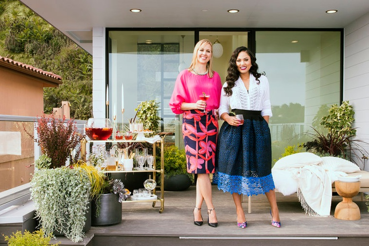 SUNSET MAGAZINE | How to Throw an Unforgettable Holiday Party - When Ayesha and Amanda get together in the kitchen, it's like a slumber party, albeit one where the conversation revolves around family and food (and, okay, shopping and tequila).