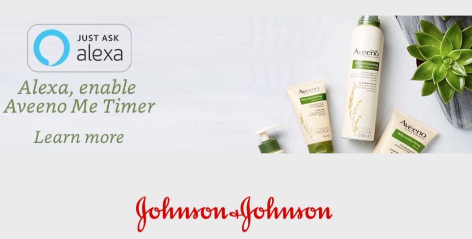 Johnson & Johnson Aveeno Me Timer