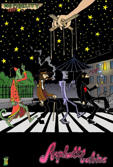 "NFR_013 Nofi Allstars ""Asphalt Babies EP"" (November 2005)"