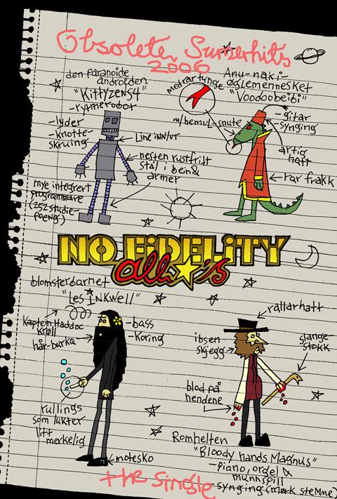 "NFRS_001 Nofi Allstars ""Obsolete Sumer Hits 2006 Singles"" (May 2006)"