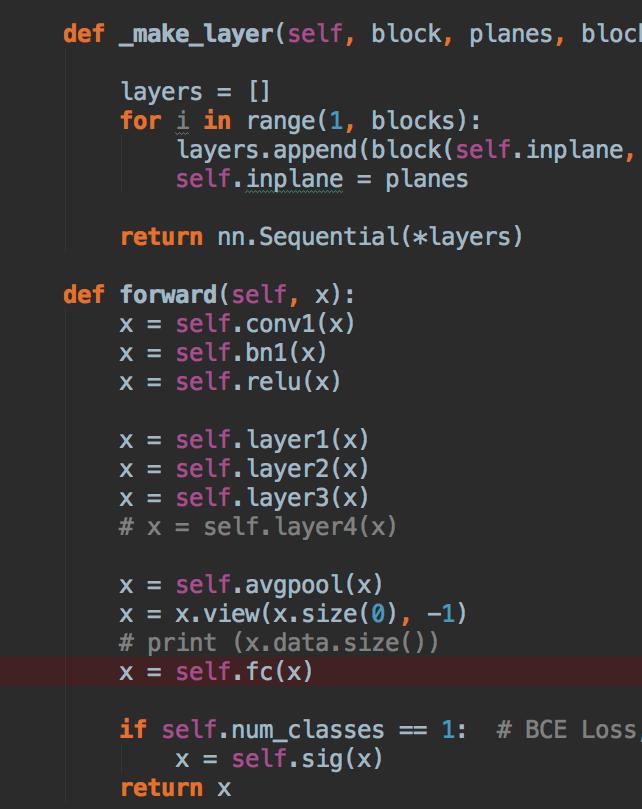 Screen an AI expert in Classification