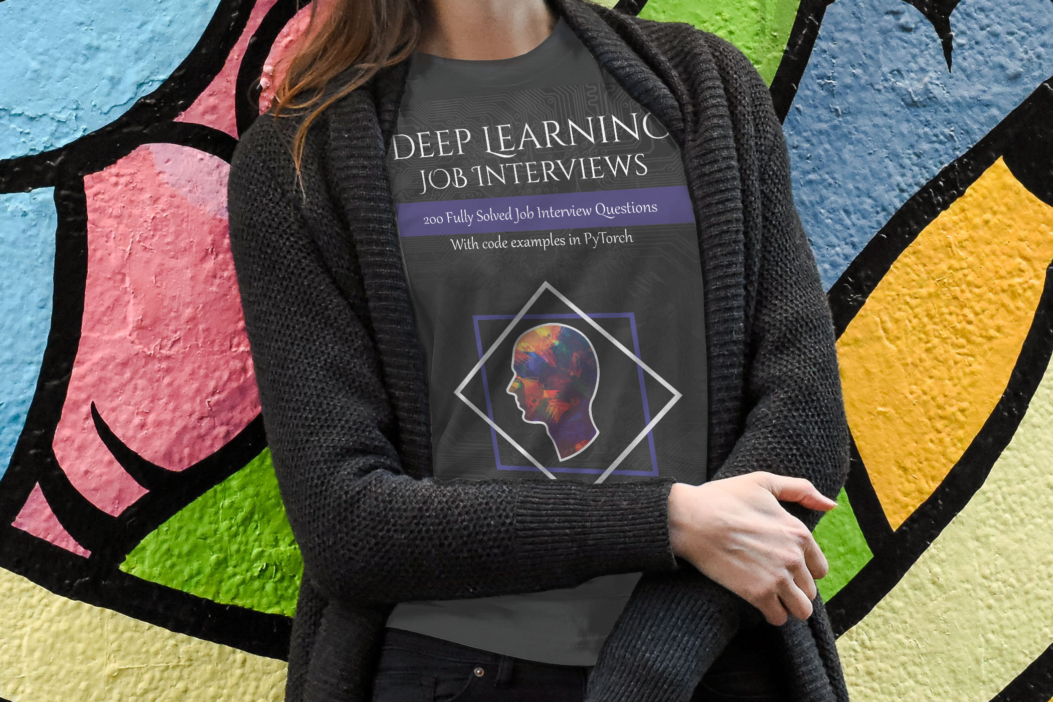 Sounds good? - Interviews AI provides the opportunity to explore a range of topics allowing you the freedom to develop your study pathway to reflect your interests including Computer Vision, Information Theory, Logistic Regression, PyTorch, Probability, Calculus, Bayesian Inference, Data Science, Deep and Machine Learning. Deep Learning Job Interviews will be published soon on iBooks, Amazon etc., and copies will ship in late 2019.