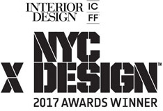 Awarded Product of the Year 2017 for the NYCxDesign Awards