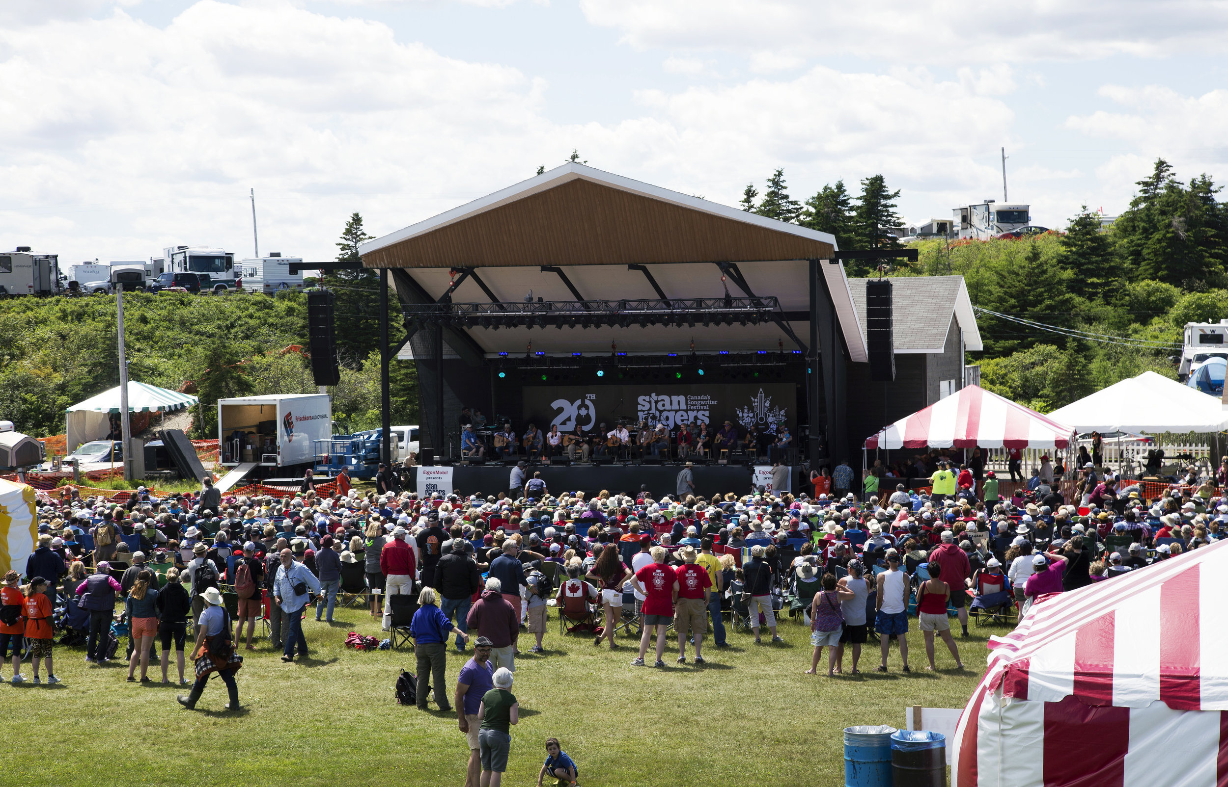 The Stan Rogers Folk Festival in Canso