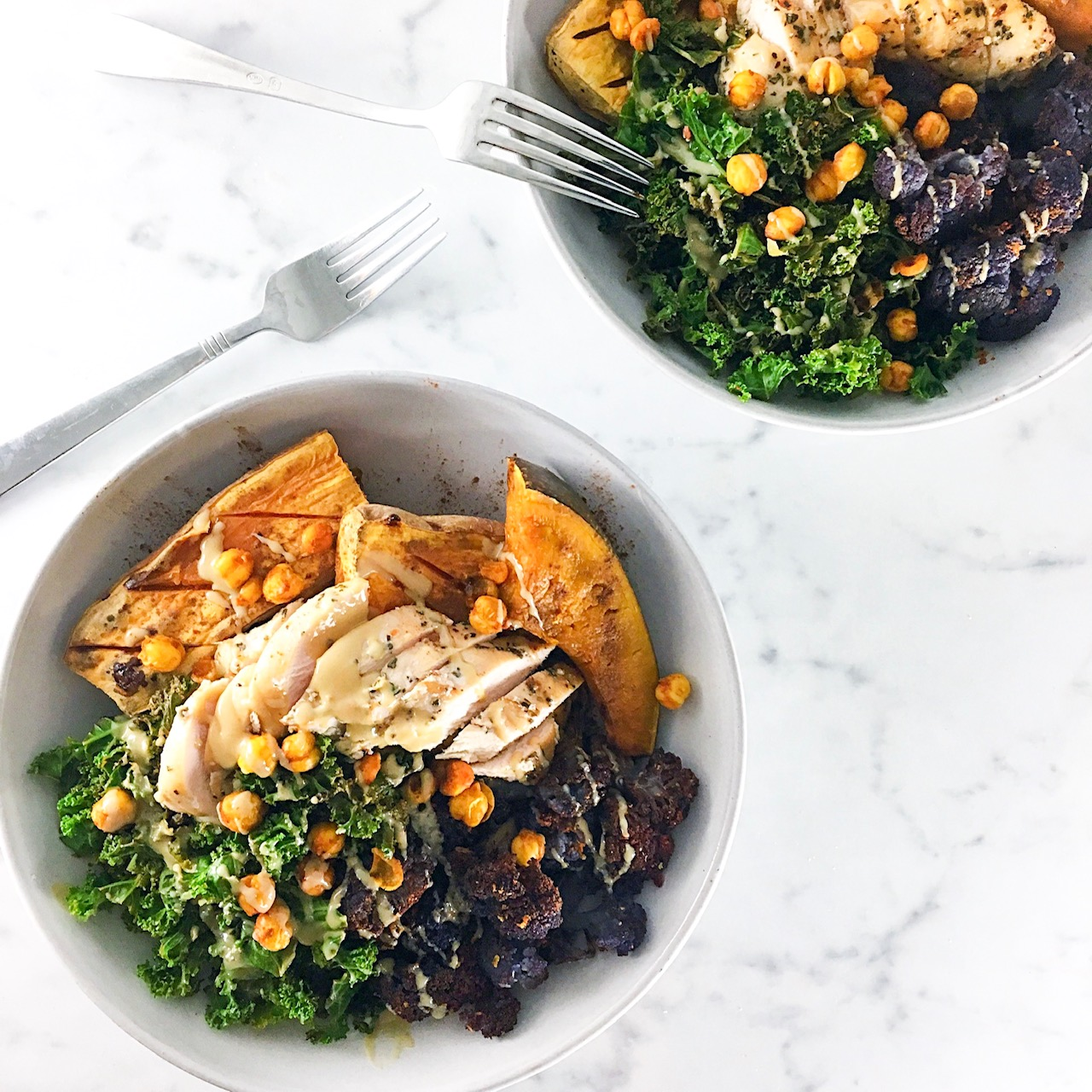 Healthy Chicken Buddah Bowl