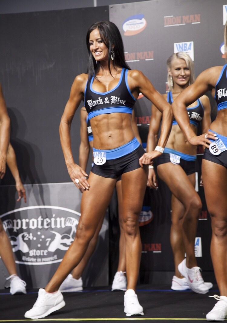 Fitness Bikini competition IFBB INBA