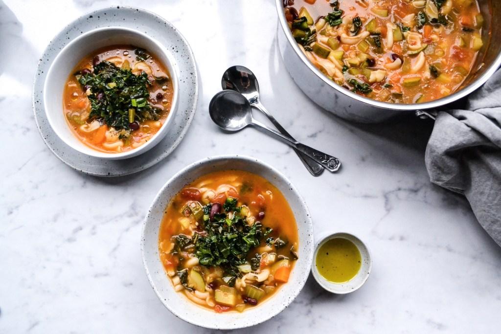 Minestrone Soup (gluten free)