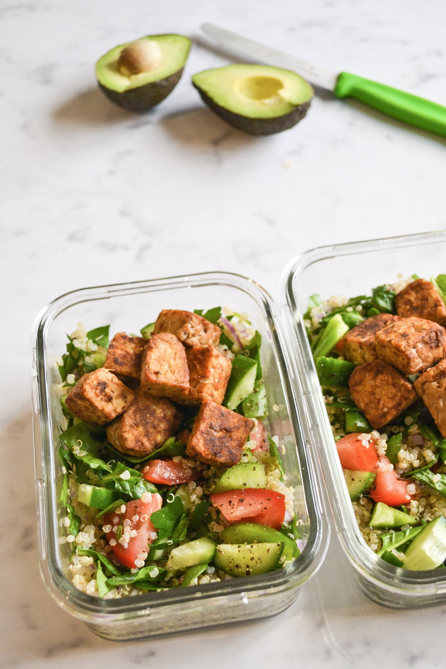 Plant-Based Protein Packed Tabbouleh Salad